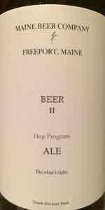Hop Program - Beer II