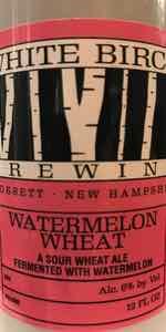 Small Batch Ale Watermelon Wheat