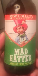 Mad Hatter Midwest India Pale Ale