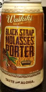 Black Strap Molasses Porter