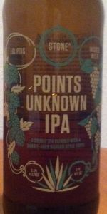 Stone / Ecliptic / Wicked Weed - Points Unknown IPA