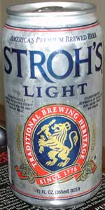 Stroh's Light