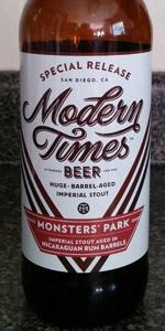 Monsters' Park - Nicaraguan Rum Barrel-Aged