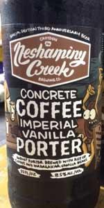 Concrete Coffee Imperial Vanilla Porter