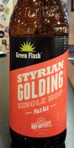 Styrian Golding Single Hop Pale Ale