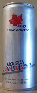 Molson Canadian 6.0 Cold Shots