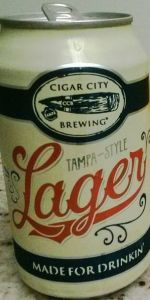 Tampa-Style Lager