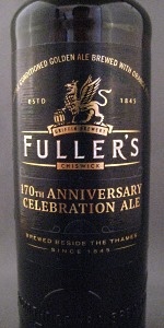 170th Anniversary Celebration Ale