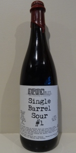 Single Barrel Sour #1