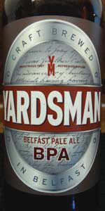 Yardsman Belfast Pale Ale