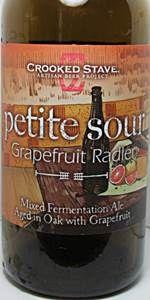 Petite Sour Grapefruit Radler