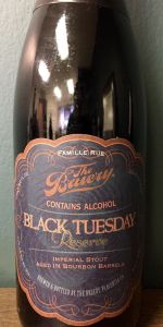 Black Tuesday - Reserve