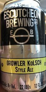 Growler Kolsch