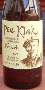 Pee Klak Moorsels Bier (for Pee Klak, Gijzejem)