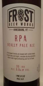 Really Pale Ale