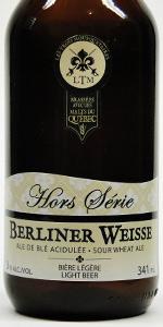 Hors Série Berliner Weisse