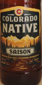 Colorado Native Saison