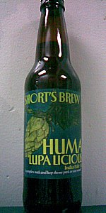 Short's Huma Lupa Licious India Pale Ale