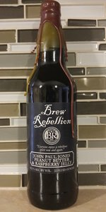 John Paul Jones Stout With Peanut Butter And Raspberry Jelly