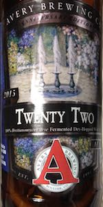 Avery Anniversary Ale - Twenty Two
