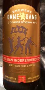 Belgian Independence Day Dry-Hopped Tripel (2015)