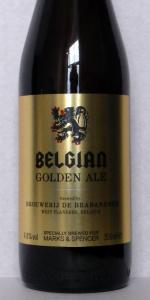 Marks And Spencer Belgian Golden Ale