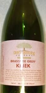 Arbor Brewing Brasserie Greff Kriek
