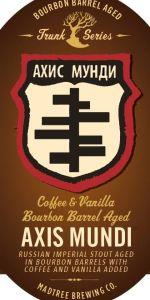 Axis Mundi - Coffee And Vanilla - Barrel-Aged