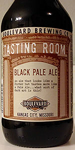 Tasting Room Series: Black Pale Ale