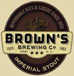 Brown's Imperial Stout