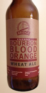 Bourbon Blood Orange Wheat Ale
