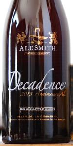 Decadence 2015 Belgian-Style Amber