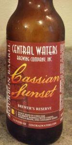 Brewer's Reserve Bourbon Barrel Cassian Sunset