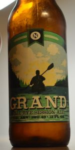 Grand Rye Pale Ale
