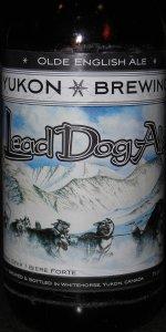 Lead Dog Olde English Ale