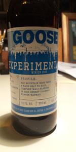 Experimental Winter Ale 2015