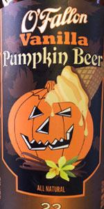 Vanilla Pumpkin Beer