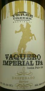 Vaquero Imperial IPA (Desperado Series)