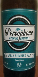 India Summer Ale