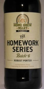 ballast point homework series #1