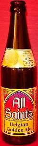 All Saints Belgian Golden Ale