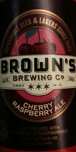 Cherry Raspberry Ale