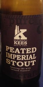 Peated Imperial Stout