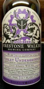 Firestone Walker / Wild Beer Co. Violet Underground