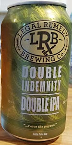 Double Indemnity Double IPA