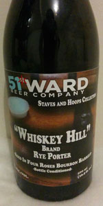 Whiskey Hill (Four Roses Bourbon Barrels)