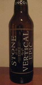 20th Anniversary Encore Series: 08.08.08 Vertical Epic Ale