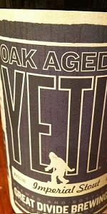 Oak Aged Yeti Imperial Stout