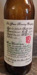 R&D 2015 Golden Ale