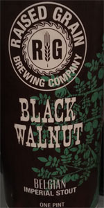 Black Walnut Belgian Imperial Stout